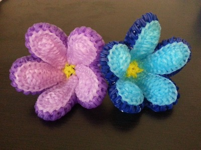 Rainbow Loom Forget-Me-Not Flower Tutorial