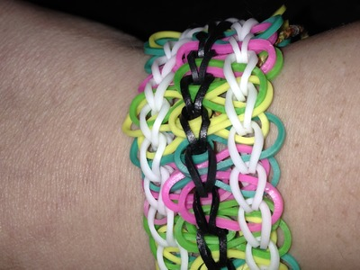 Rainbow Loom Train Track pattern tutorial how to