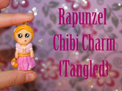 Rapunzel Chibi Charm {Tangled} - Polymer Clay! ❤