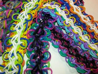 Ruffle Bracelet Tutorial by feelinspiffy (Rainbow Loom)