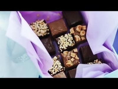Spoil your mum this Mother's Day with homemade chocolate fudge