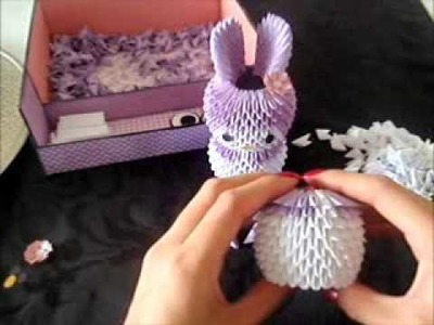 3d origami melody tutorial part 1.