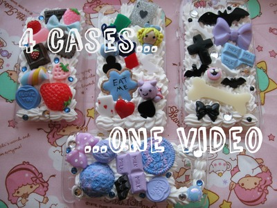 4 Decoden Cases in One Video!