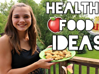 A Day of Healthy Eating: Breakfast, Lunch, Dinner, and Snack Ideas!