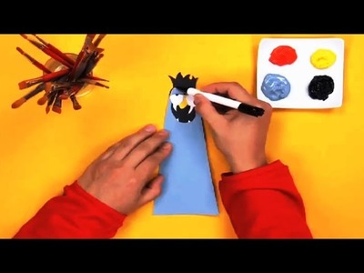 Art Attack - How To Make a Cup Monster - Disney India Official