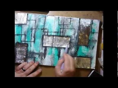 Art Journal Texture Extravaganza