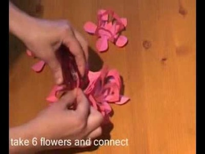 Awesome Paper ! How To Make Paper Flower Lamp !