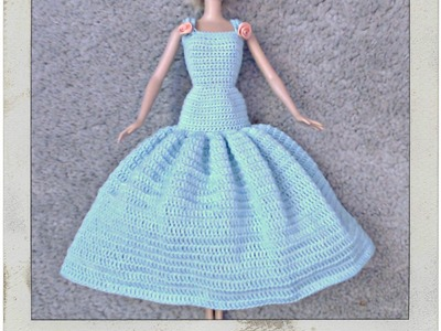 Barbie's - Double Crochet  Dress