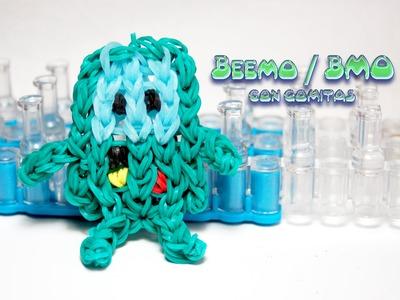Beemo-BMO - Hora de aventuras con gomitas (Adventure Time, rainbow loom)