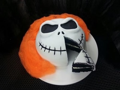 BLACK VELVET JACK SKELLINGTON CAKE (How to)
