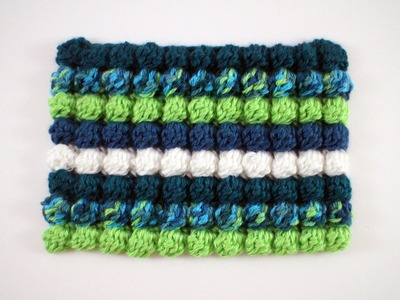 Bobble Stitch Left Hand