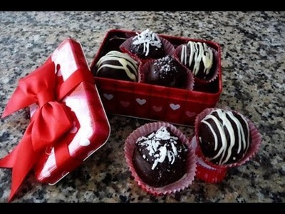 Bolitas de Chocolate y Cafe El regalo perfecto para Mama!!