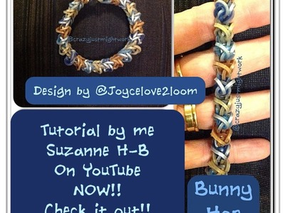 Bunny Hop bracelet tutorial (hook only)