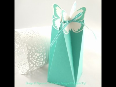 Butterfly Faceted Box