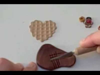 Clay For Beginners: Waffle Heart w.Goodies