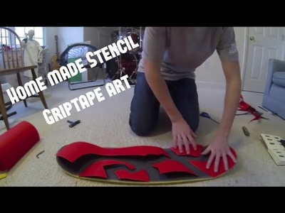 CUSTOM GRIPTAPE ART DESIGN