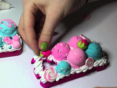 Decoden - Making of Ice Cream Scoop Case 2