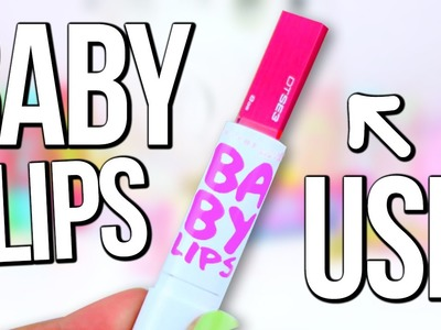 DIY BABY LIPS USB Flash Drive ♥ BACK TO SCHOOL