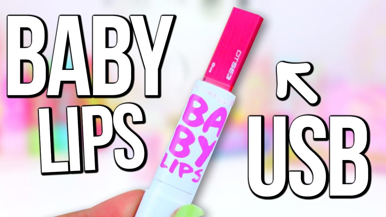 DIY BABY LIPS USB Flash Drive ♥ BACK TO SCHOOL