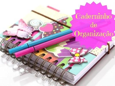 DIY - Caderninho de Organização