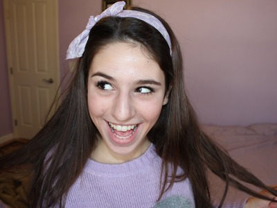 DIY Cute Bow Headband!