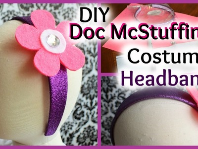 DIY Doc McStuffins Inspired Headband
