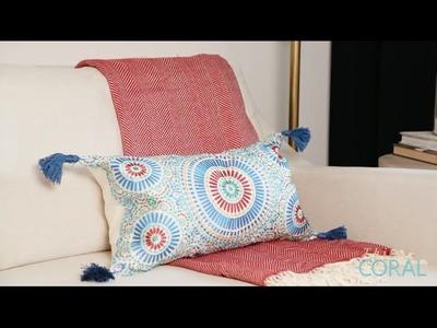 DIY Pillow Tassels