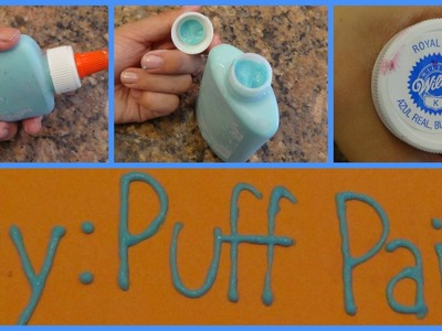 Diy: Puff Paints ( From Scratch!)