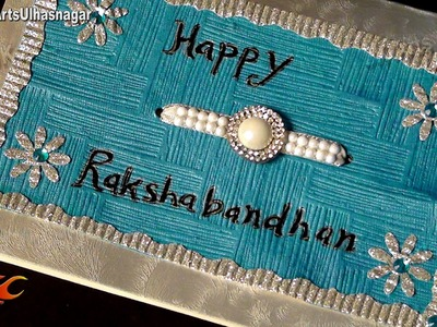 DIY  Raksha Bandhan Greeting Card | How to Make | JK Arts 649