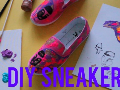 DIY Rimon Guimarães Graffiti Inspired Sneakers