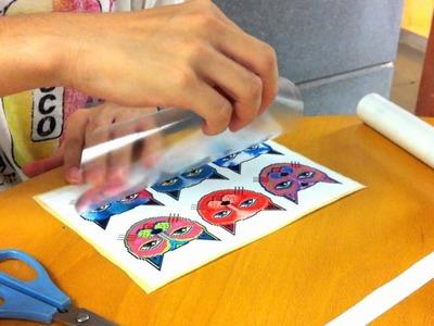 DIY Stickers (+ xXx360 nOsC0p3 scissorspinxXx)