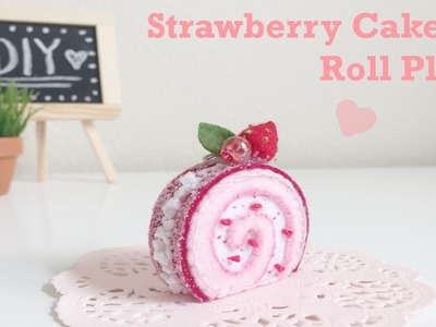 DIY Strawberry Cake Roll Plush Toy & GIVEAWAY WINNERS!