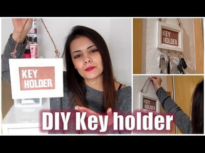 DIY VINTAGE HOME DECO.DECORACIÓN: KEY HOLDER