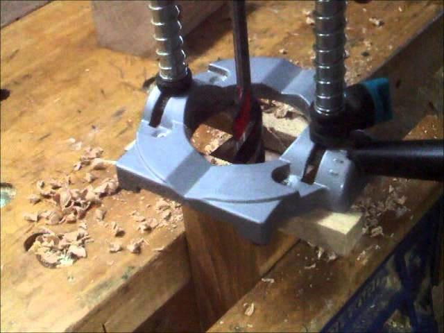 Drilling Dog Holes