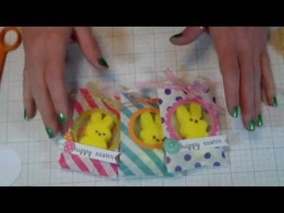 Easter Peeps Treat Bag - How to make Easter Treats