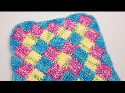 How to Do Tunisian Entrelac Borders