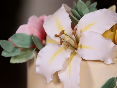 How to Make a Casablanca Lily Center | Sugar Flowers