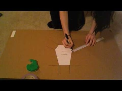 HOW TO MAKE A COFFIN PURSE: Part 1 of 2