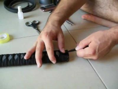 How to make a katana(como hacer una katana) for cosplay or softcombat