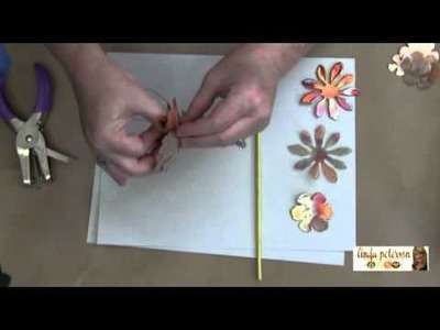 How to Make Copper Flower Plant Stakes - Livin' the Creative Life TV - Linda Peterson
