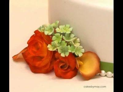 How to Make Gumpaste Filler Flowers