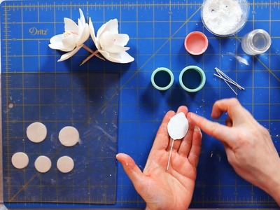 How to Make Magnolia Petals | Sugar Flowers