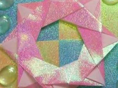 Ku-Ku ORIGAMI Ornament Star (Ornamento Estrella)
