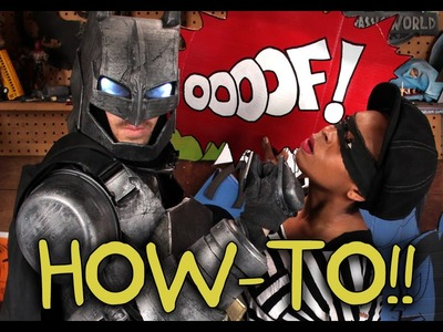 Make Your Own Batman Mecha Armor Suit! - Homemade How-to!