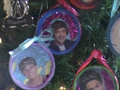 Make Your Own One Direction Ornaments