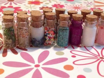Mini bottle charms!