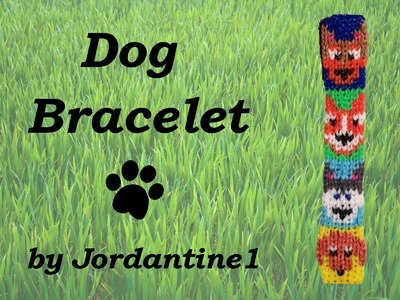 New Dog. Puppy Bracelet - Alpha Loom. Rainbow Loom - German Shepherd, Corgi, Husky, Dachshund