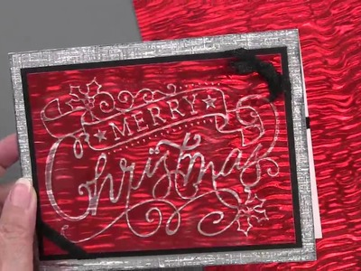 New Holiday Embossing Folders & Cutting Dies - Paper Wishes Weekly Webisodes