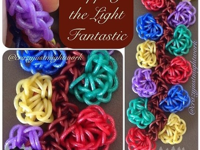 NEW Tripping the Light Fantastic rainbow loom bracelet