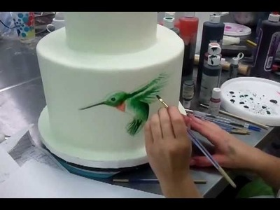 Painting on Cakes part 1 - Savannah Custom Cakes